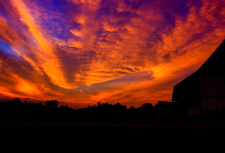 Sunrise di Toba
