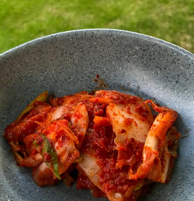 Kimchi a la Sitoluama