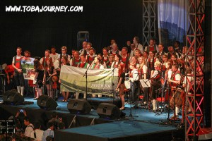 TobaJourneyCom - Herman Delago, Austrian Orchestra, Tobatak  Concert at Samosir